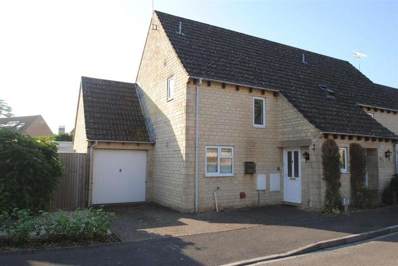 2 Bedrooms Semi Detached House for sale in Roberts Close, Cirencester