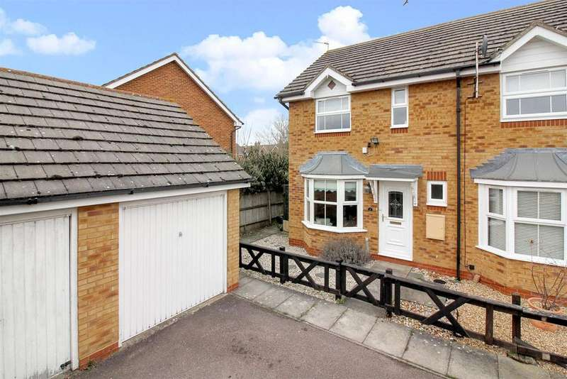 2 Bedrooms End Of Terrace House for sale in Owl Close, Aylesbury