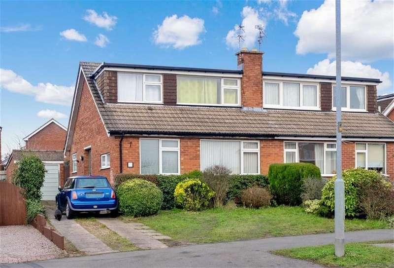 3 Bedrooms Semi Detached House for sale in Belvoir Drive, Loughborough, LE11