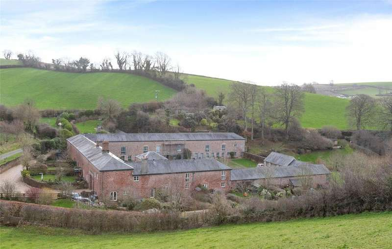 4 Bedrooms Barn Conversion Character Property for sale in Higher Compton Barton, Compton, Marldon, Paignton, TQ3