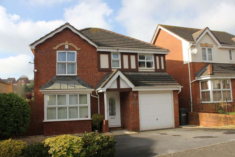 4 Bedrooms Detached House for sale in Trelissick Road, Heritage Park , Paignton