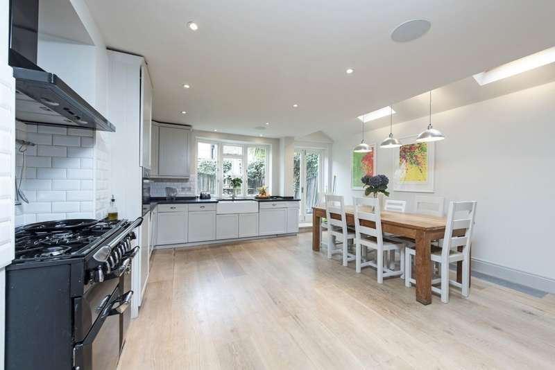 6 Bedrooms Terraced House for sale in Kelmscott Road, London SW11