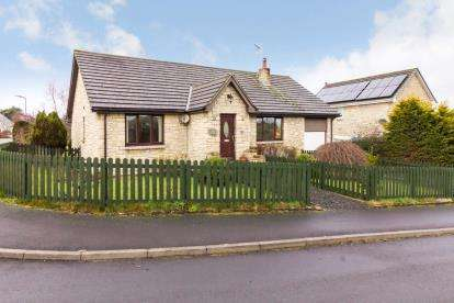 2 Bedrooms Bungalow for sale in Leslies Drive, Otterburn, Northumberland, Newcastle, NE19