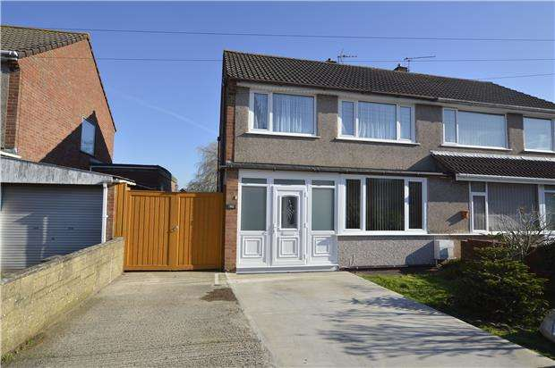 3 Bedrooms Semi Detached House for sale in Bradley Avenue, Winterbourne, BRISTOL, BS36 1HR