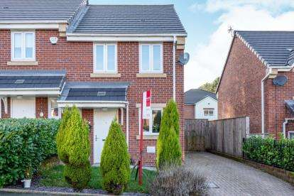 2 Bedrooms Semi Detached House for sale in Viner Way, Hyde, Greater Manchester, .
