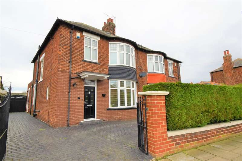 3 Bedrooms Semi Detached House for sale in Thornfield Grove, Middlesbrough, TS5 5LF