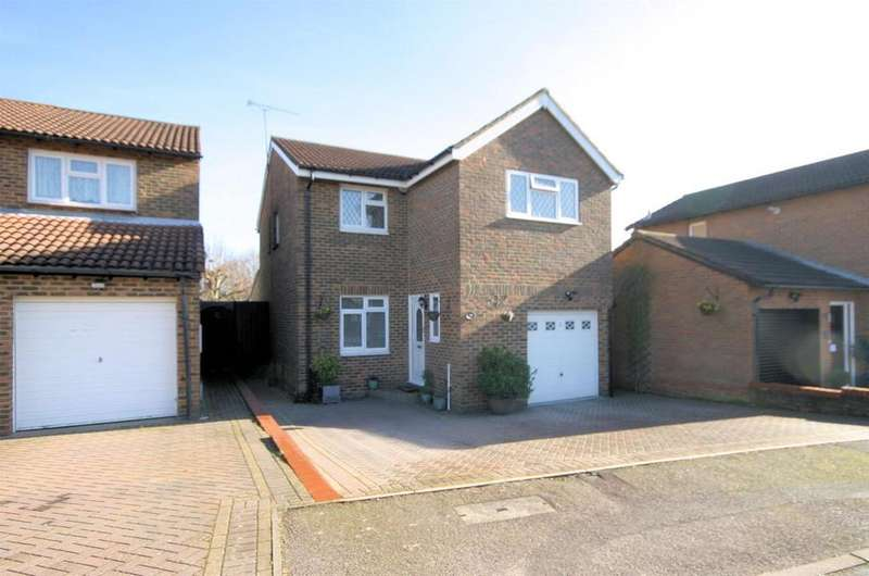 4 Bedrooms Detached House for sale in Hardwick Green, Barton Hills, Luton