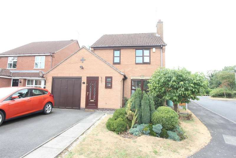 3 Bedrooms Detached House for sale in Newquay Close, Hinckley