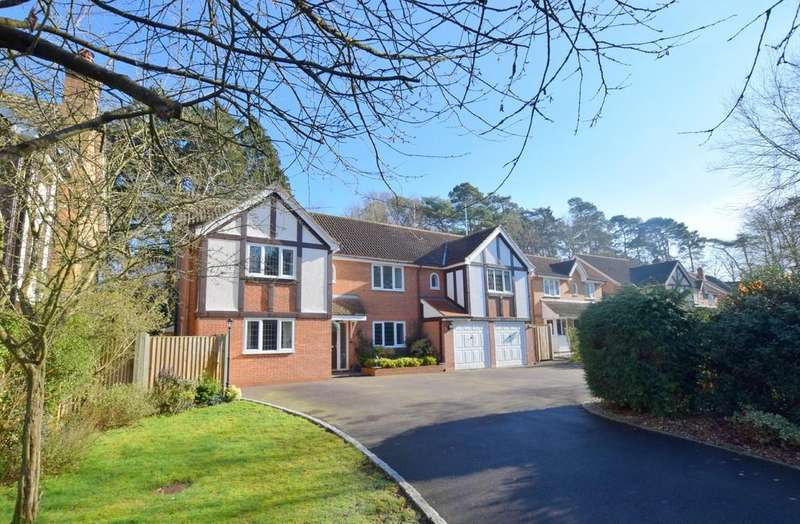 5 Bedrooms Detached House for sale in Wynne Gardens, Church Crookham