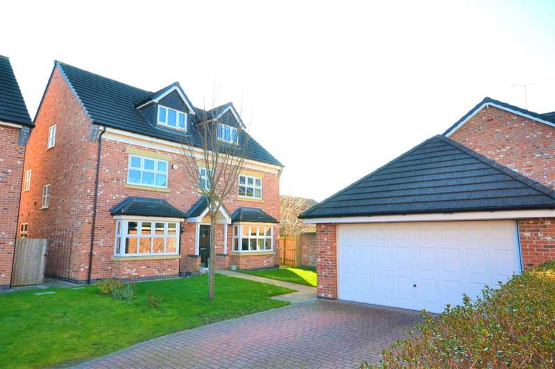 5 Bedrooms Detached House for sale in Heatherridge Close, Tytherington, Macclesfield