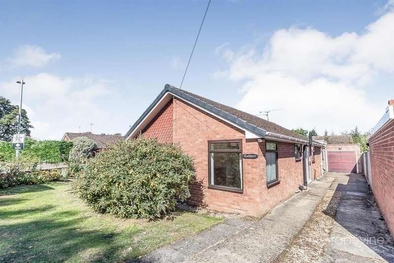 3 Bedrooms Detached Bungalow for sale in Milton Way, Ruscombe, Reading