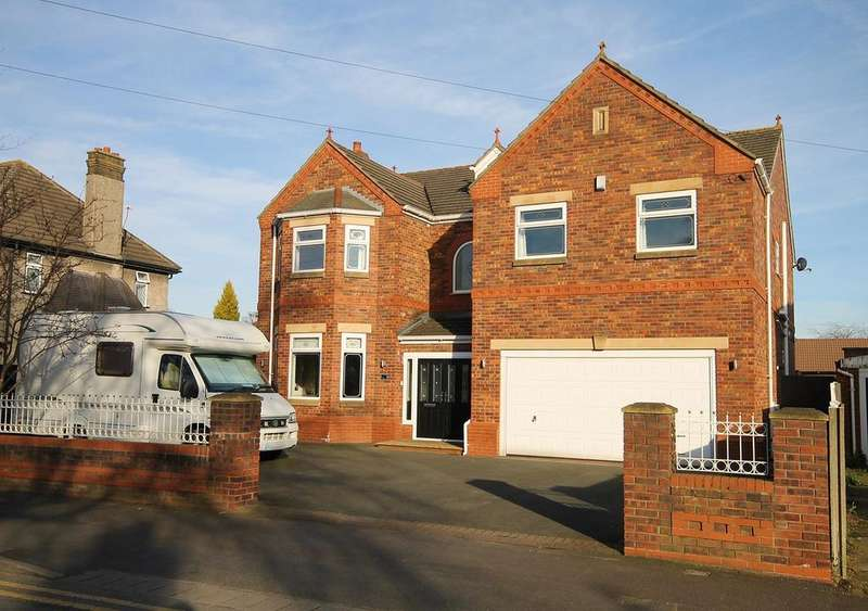 4 Bedrooms Detached House for sale in Birchfield Road, Widnes, WA8