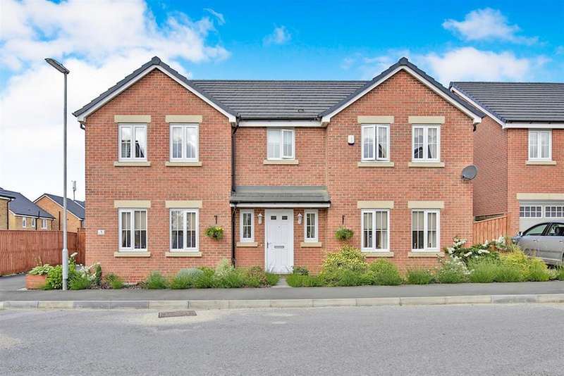 5 Bedrooms Detached House for sale in Kasher Road, Willington, Crook