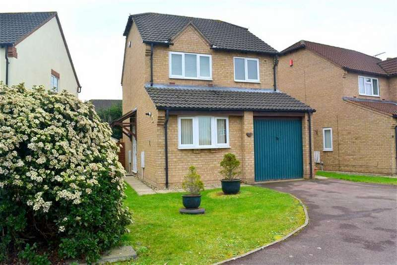 3 Bedrooms Detached House for sale in Hilcot Close Quedgeley