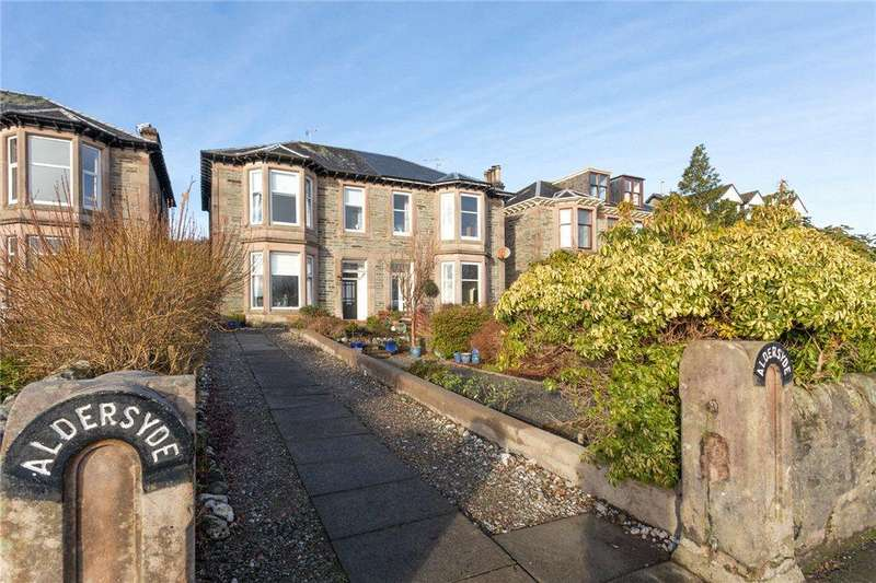3 Bedrooms Semi Detached House for sale in Glenmorag Crescent, Dunoon, Argyll and Bute