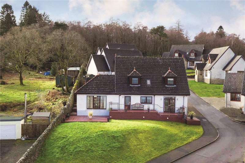 4 Bedrooms Detached House for sale in Eccles Road, Hunters Quay, Dunoon, Argyll and Bute