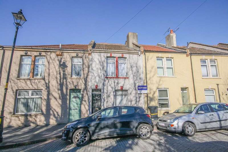 2 Bedrooms Terraced House for sale in Trafalgar Terrace, Bedminster, Bristol, BS3 2SW