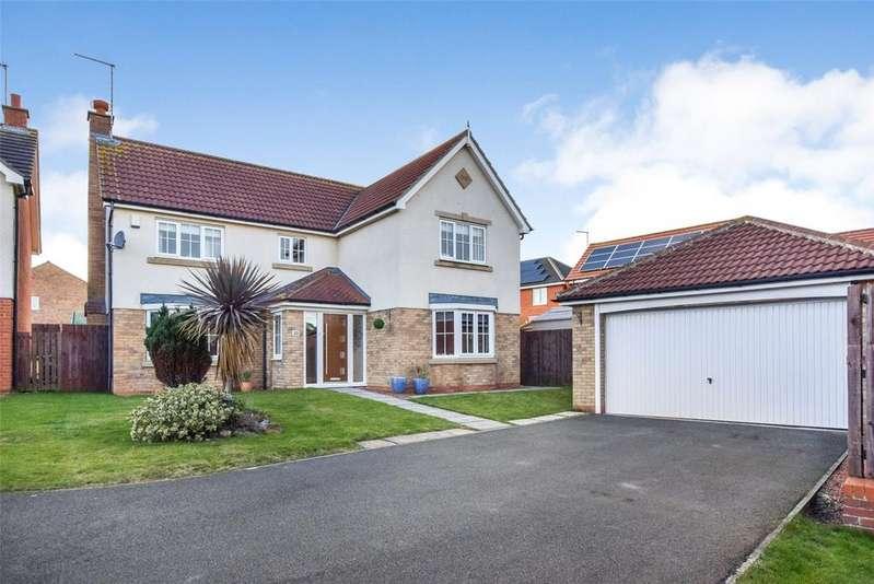 4 Bedrooms Detached House for sale in Aldeburgh Way, East Shore Village, Seaham, Co Durham, SR7