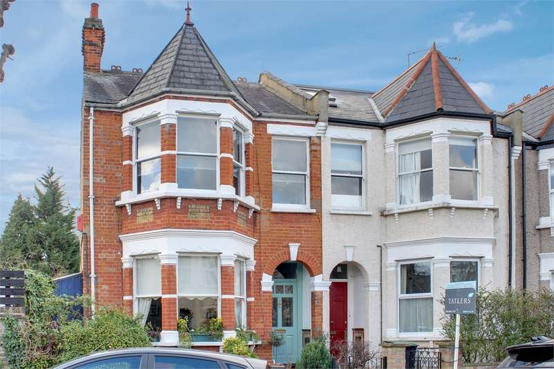 3 Bedrooms End Of Terrace House for sale in Princes Avenue, Alexandra Park, London