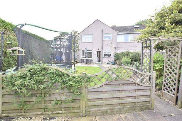 3 Bedrooms Semi Detached House for sale in Heath Rise, Cadbury Heath, BS30 8DD