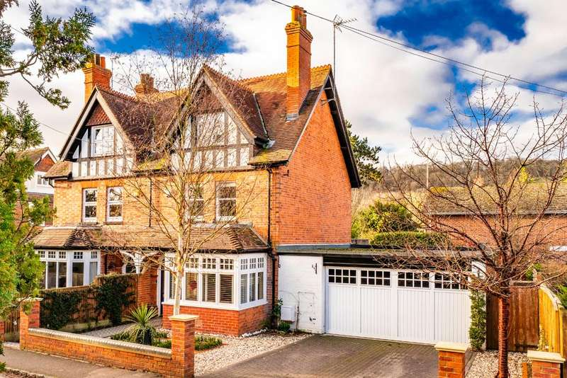 4 Bedrooms Semi Detached House for sale in Querton, Goring on Thames, RG8