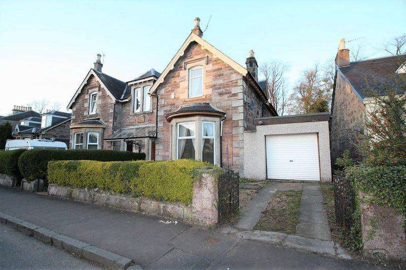 4 Bedrooms Semi Detached House for sale in 55 Grange Road, Alloa
