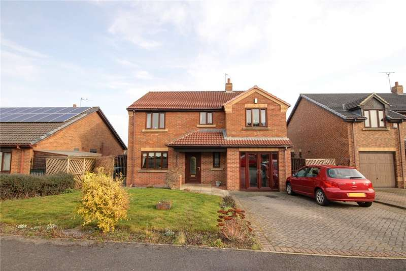 4 Bedrooms Detached House for sale in Richmond Close, Shildon, County Durham, DL4