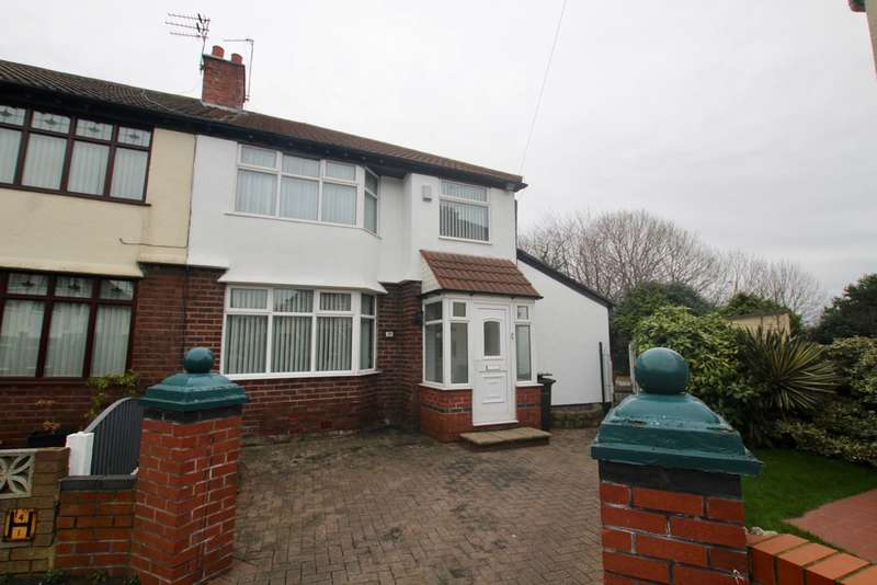 3 Bedrooms Semi Detached House for sale in Marina Avenue, Litherland, Liverpool, L21
