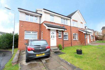 4 Bedrooms Semi Detached House for sale in Culross Way, Moodiesburn, Glasgow, North Lanarkshire
