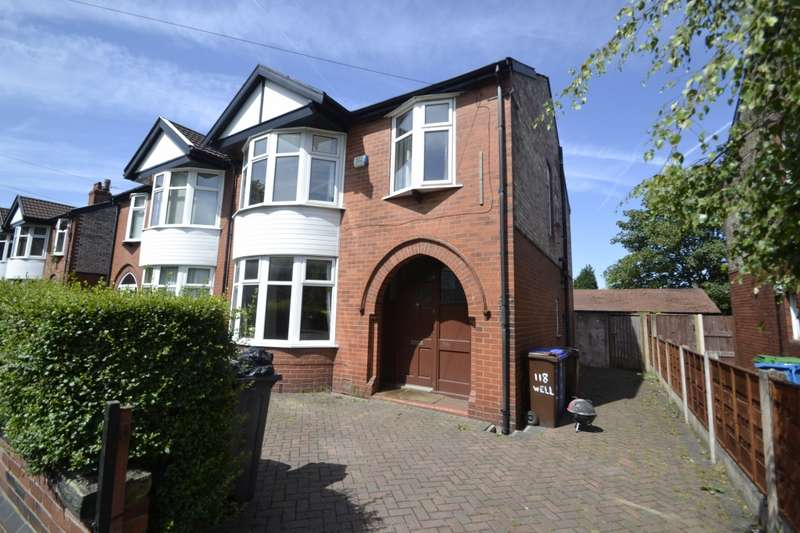 4 Bedrooms Semi Detached House for rent in Wellington Road, Fallowfield, M14
