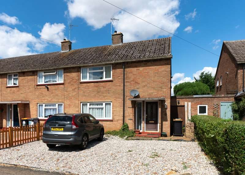 3 Bedrooms End Of Terrace House for sale in Bush Close, Dunstable, Bedfordshire, LU5