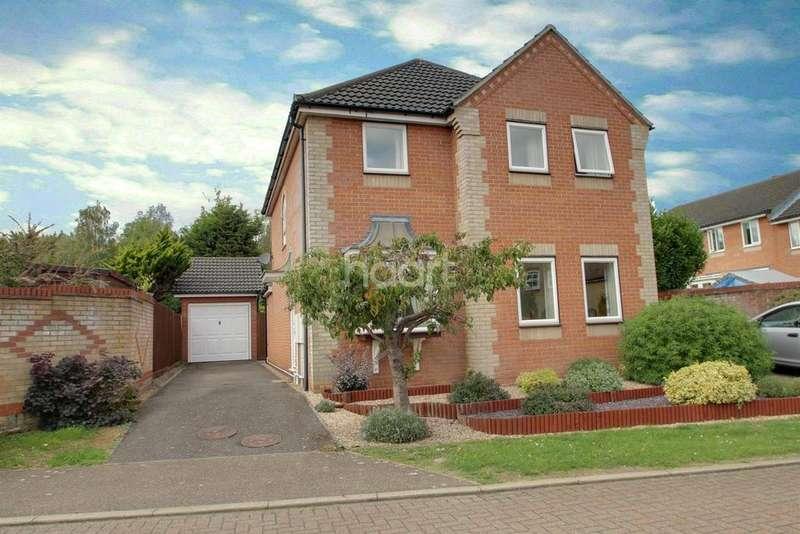 4 Bedrooms Detached House for sale in Cardinal Close, Bury St Edmunds
