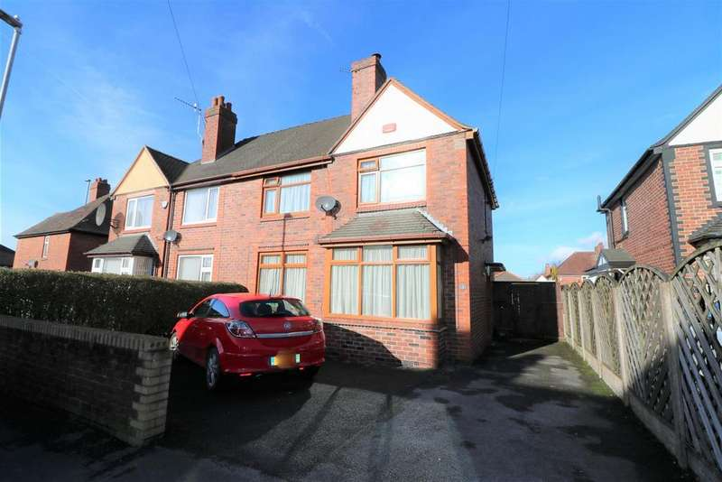 3 Bedrooms Semi Detached House for sale in Richmond Avenue, Sneyd Green, Stoke-On-Trent