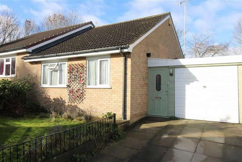 2 Bedrooms Semi Detached Bungalow for sale in Blackthorn Drive, Anstey Heights