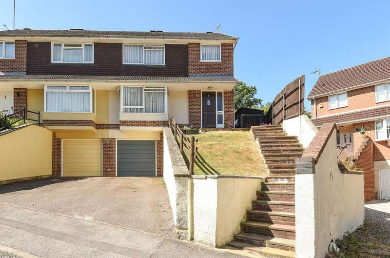 3 Bedrooms Semi Detached House for sale in Magpie Way, Tilehurst, Reading, Berkshire, RG31
