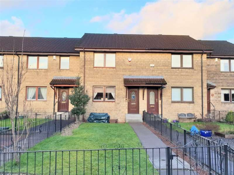 2 Bedrooms Terraced House for sale in 40 Bramble Hedge Path, Jamestown, Alexandria, G83 8PH
