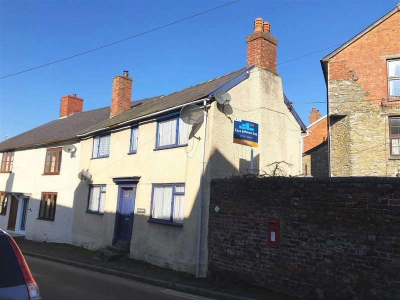 3 Bedrooms Semi Detached House for sale in Welsh Street, Bishops Castle, Shropshire, SY9