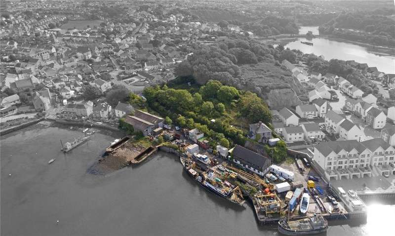 Land Commercial for sale in Bayly's Road, Oreston, Plymouth, Devon, PL9