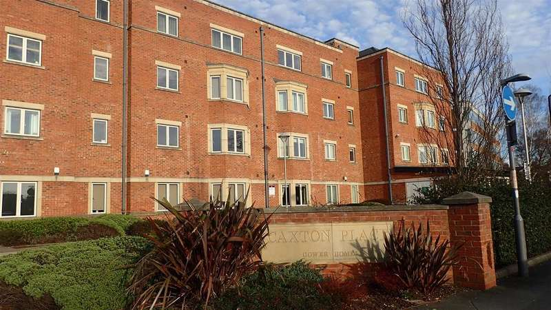 2 Bedrooms Apartment Flat for sale in Caxton Place, Wrexham