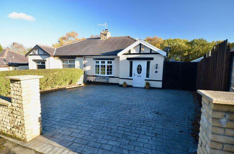 2 Bedrooms Semi Detached Bungalow for sale in Moseley Road, Burnley