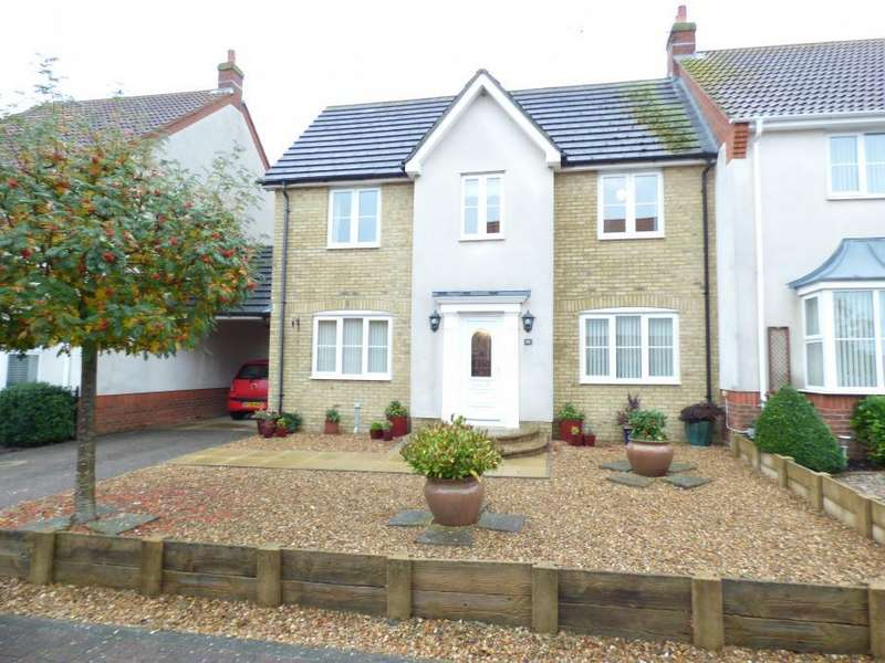 4 Bedrooms Semi Detached House for sale in Marston Moretaine, Beds, MK43 0RQ