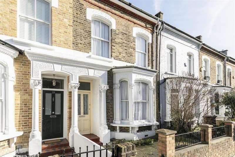 3 Bedrooms Terraced House for sale in Kersley Road, London, N16