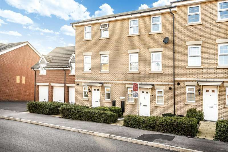 3 Bedrooms Terraced House for sale in Burrows Close, Grantham, NG31