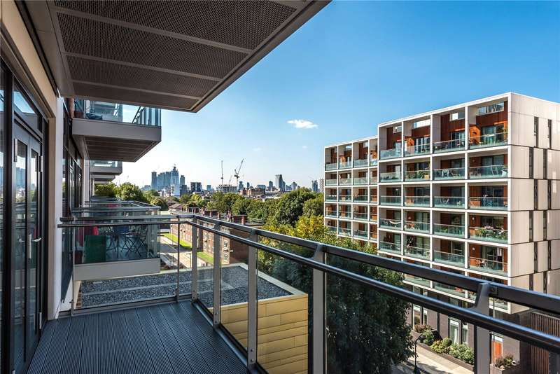2 Bedrooms Flat for sale in Fuse Building Beechwood Road London