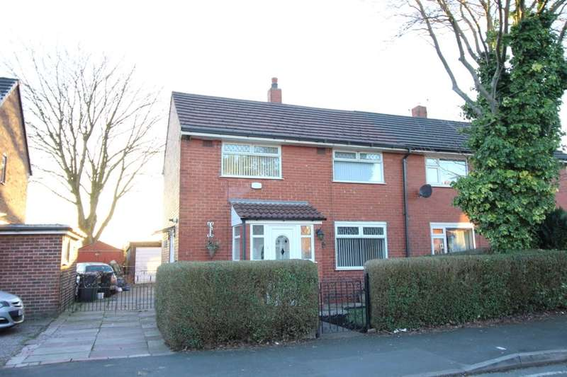 2 Bedrooms Semi Detached House for sale in Whitefield Road, Bury, BL9