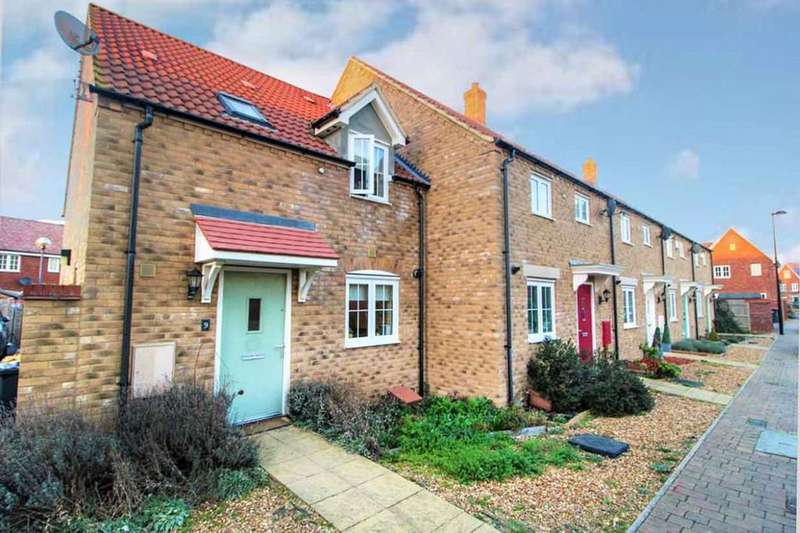 3 Bedrooms End Of Terrace House for sale in Moorland Close, Wixams, MK42