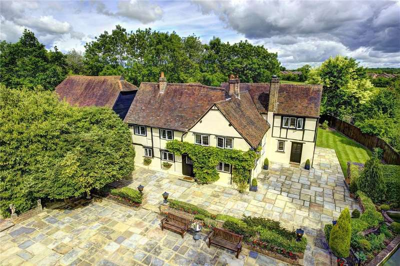 6 Bedrooms Detached House for sale in Old Clack Farm, Tile Kiln Lane, Harefield, Uxbridge, Middlesex, UB9