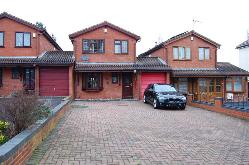 4 Bedrooms Link Detached House for sale in Ivyhouse Lane, Coseley, WV14