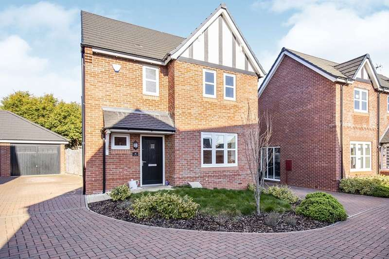 3 Bedrooms Detached House for sale in Holywell Fields, HINCKLEY, LE10