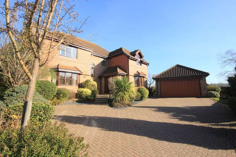 5 Bedrooms Detached House for sale in Berberry Drive, Flitton, MK45